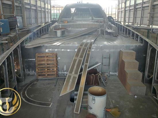 Comienza la construcción del superyate de 40 metros Phoenix 130