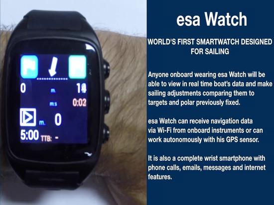 reloj del esa: el primer smartwatch del mundo diseñado para navegar