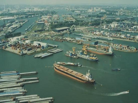 AquaDrones en los días 2016 del puerto del mundo de Rotterdam