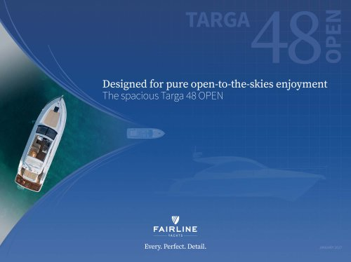 Targa 48 open