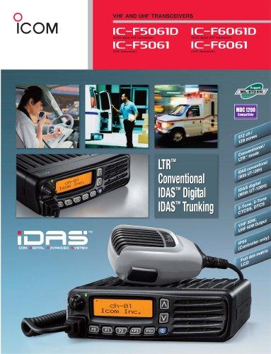 IC-F5061D, IC-F6061D