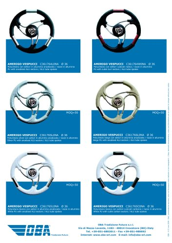 Steering Wheels Vespucci