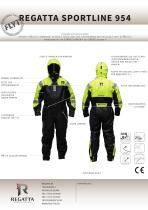 Flotation suits - Sportline 954