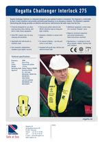 Inflatable lifejackets - Challenger Interlock