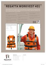 The collection of Workvests - Workvest 401