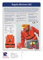 The collection of Workvests - Workvest 403