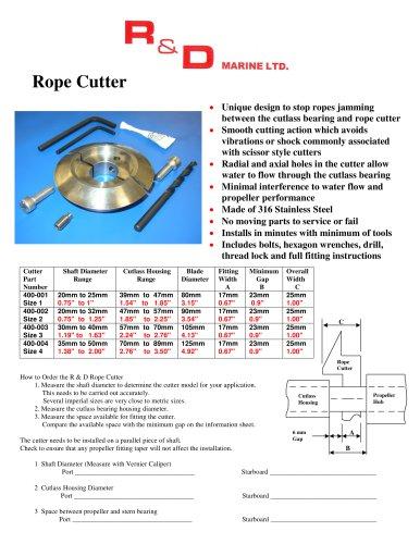 Rope Cutter