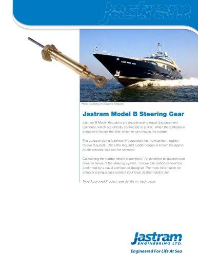 New B Model website