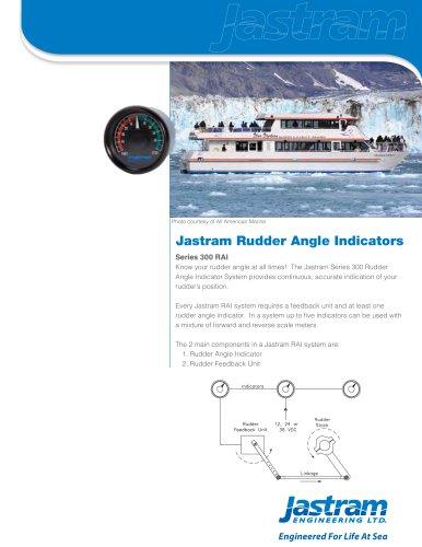 Rudder Angle Indicators (Series 300 RAI)