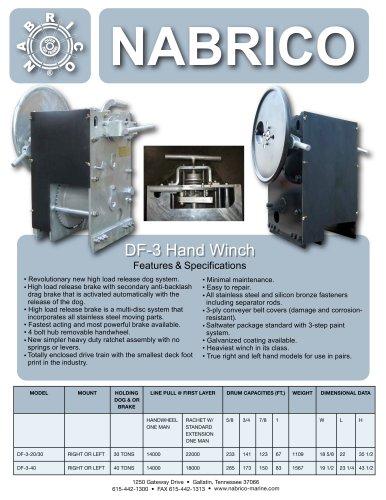 DF-3 Manual Winch