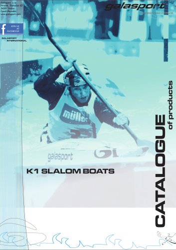 K1 slalom boats catalogue