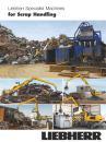 Liebherr Specialist Machines for Scrap Handling