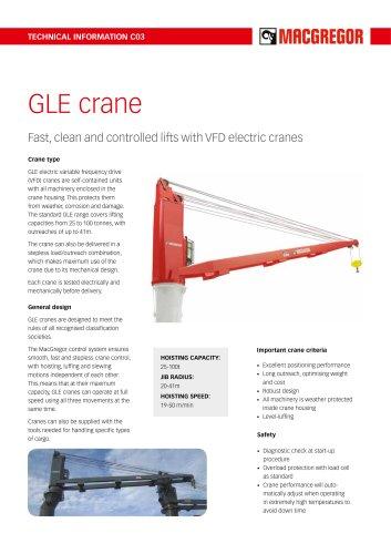 GLE crane