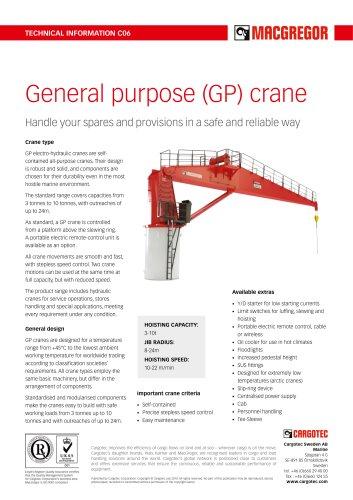 GP crane