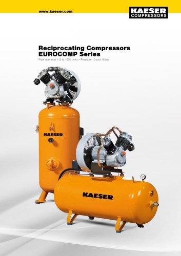 Reciprocating Compressors EUROCOMP Series