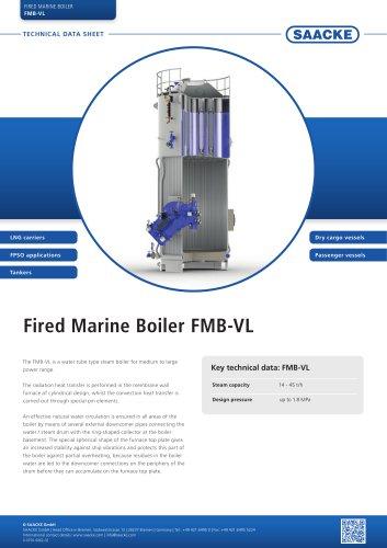 Fired Marine Boiler FMB-VL