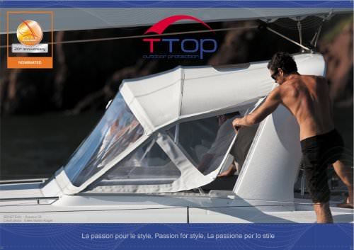 T-TOP - STYLE IN BOAT PRESENTATION