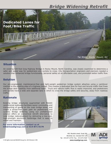 Bridge Widening Retrofit