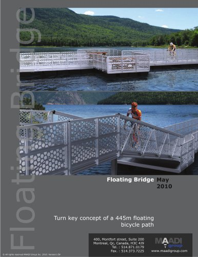 Sample Floating Bridge