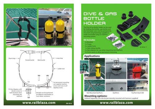 DIVE & GAS  BOTTLE  HOLDER