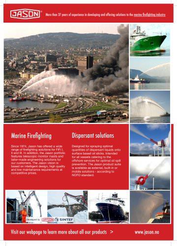 Firefighting & Dispersant advertisement