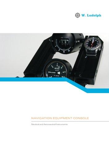 Navigation equipment console