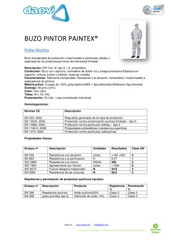 Coverall - Paintex Plus
