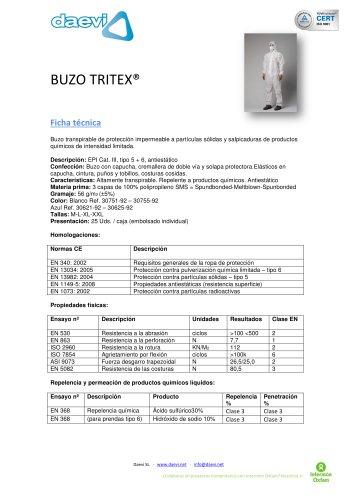 Coverall Tritex Pro
