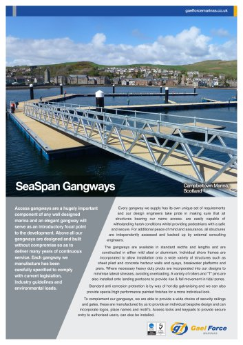 SeaSpan Access Gangways