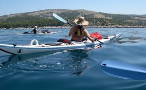 Kayaks, Barcos a remo