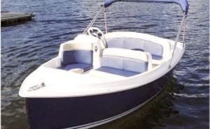Barcos eléctricos e híbridos