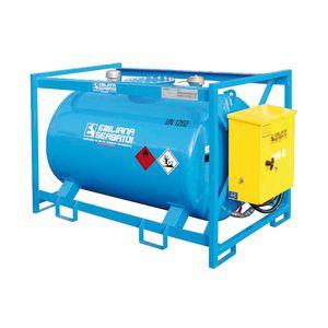 depósito de combustible / para barco / con bombas trasiego / de metal