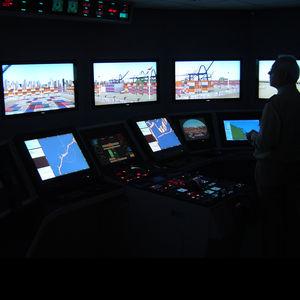simulador de prácticas / de ECDIS / para buque