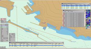 simulador de prácticas / para buque / para radio
