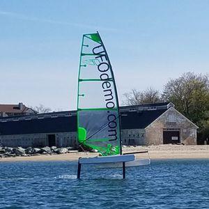 catamarán deportivo con foil / para niños / solitario / desmontable