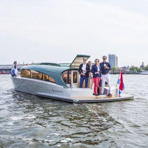 barco profesional barco taxi / eléctrico / de aluminio
