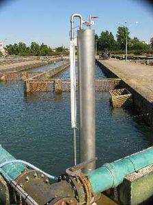 desgasificador de vacío / para la acuicultura