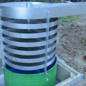 desgasificador de vacío / para la acuicultura / para la piscicultura