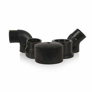 racores de tubería para la acuicultura / de plástico