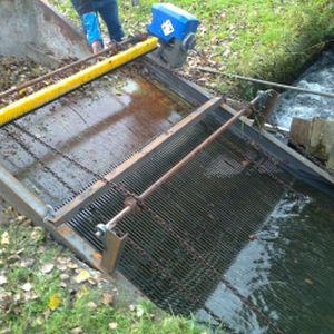 reja de desbaste para la acuicultura