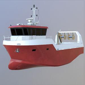 barco profesional barco de pesca multiusos / intraborda / de aluminio