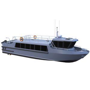 barco profesional barco de búsqueda y rescate / barco de transporte de tripulación / embarcación de apoyo al buceo / intraborda