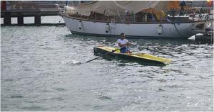 barco de remo de recreo