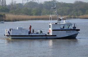 barco profesional barco de investigación oceanográfica / hidrojet intraborda / de aluminio