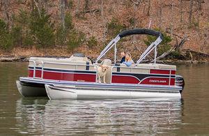 barco pontón fueraborda / de esquí acuático / de pesca deportiva / de aluminio