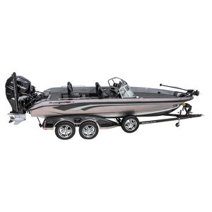 bass boat fueraborda / con doble consola / de pesca deportiva / 7 personas máx.