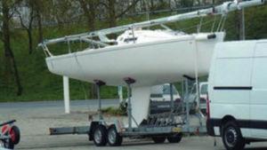 remolque de carretera / para velero