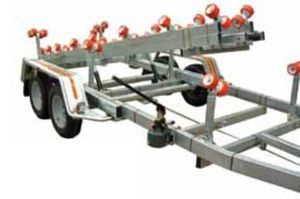 remolque de manipulación / para astillero naval / de rodillos