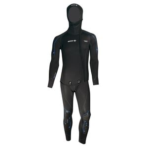 traje húmedo de buceo / con capucha / de manga larga / dos piezas