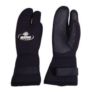 guantes de buceo